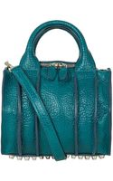 Alexander Wang Turquoise Inside Out Rockie Bag - Lyst
