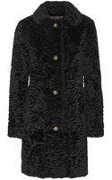 A.P.C. Rabbit Fur Coat - Lyst