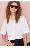 Nasty Gal Boxed in Top - Lyst