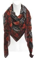 Marc By Marc Jacobs Heart Snake Stole 130x160 - Lyst