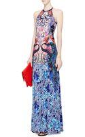 Mary Katrantzou Sirene Printed Jersey Maxi Dress - Lyst