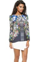 Clover Canyon Chieftains Blouse  Multi - Lyst