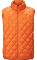 Uniqlo Men Ultra Light Down Quilted Vest - Lyst