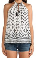 Joie Eniko Tribal Mix Printed Tank - Lyst