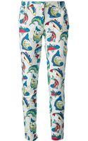Kenzo Fish Trouser - Lyst