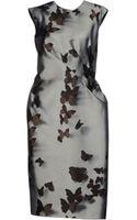 Lanvin Knee-length Dress - Lyst
