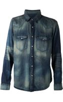 Nsf Clothing Denim Shirt - Lyst