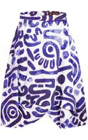 Vivienne Westwood Anglomania Aztec Skirt - Lyst