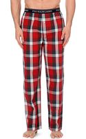 Ralph Lauren Tartan Cotton Pyjama Bottoms - Lyst