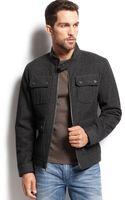 Inc International Concepts Peters Wool-blend Coat - Lyst