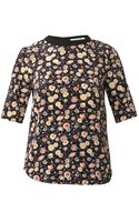 Elizabeth And James Piper Silk Blouse - Lyst