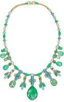 Erickson Beamon Aerin Goldplated Swarovski Crystal Necklace - Lyst