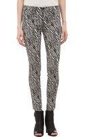 J Brand Zebra Jacquard Super Skinny Jeans - Lyst