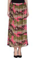Love Moschino Long Skirt - Lyst