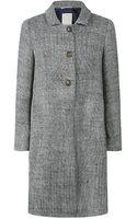 Max Mara Nogal Tweed Coat - Lyst