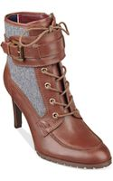 Tommy Hilfiger Womens Lucinda Dress Booties - Lyst