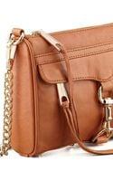 Rebecca Minkoff Mini Mac Core Crossbody Bag Almond - Lyst