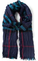 Burberry House Check Creased Scarf - Lyst