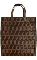 Fendi Handbag Zucca Tote - Lyst