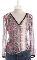 Lucky Brand Concord Mixed Paisley Print Tunic - Lyst