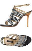 Alberto Guardiani Highheeled Sandals - Lyst