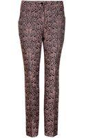 Ted Baker Kaheit Contrast Jacquard Suit Trouser - Lyst