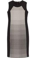Raoul Gracia Grid Print Dress - Lyst