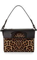 Christian Louboutin Passage Small Calf Hair Shoulder Bag Leopard - Lyst