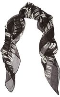 McQ by Alexander McQueen Printed Gauze Scarf - Lyst