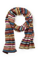 Paul Smith Multistripe Scarf - Lyst