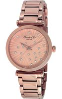 Kenneth Cole New York Womens Rose Gold Ion-plated Stainless Steel Bracelet Watch 35mm - Lyst