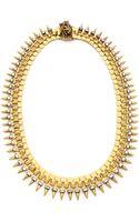 Erickson Beamon Velocity Necklace Gold - Lyst