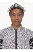 Ktz Leather Studded Headband - Lyst
