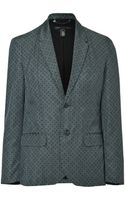 Marc By Marc Jacobs Silk-cotton Alameda Suiting Blazer - Lyst