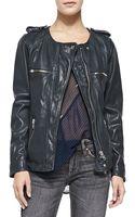 Etoile Isabel Marant Bacuri Leather Jacket - Lyst