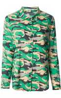 Carven Camouflage Shirt - Lyst