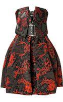 Kenzo Jacquard Monster Cocktail Dress - Lyst