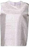 Maison Rabih Kayrouz Shimmer Tank Top - Lyst