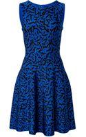 Issa Intarsia Knit Bay Dress - Lyst