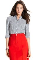 Tommy Hilfiger Stripe Dot Long Sleeve Shirt - Lyst