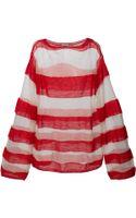 Acne Studios Open Kid Sweater - Lyst