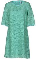 Aglini Short Dress - Lyst