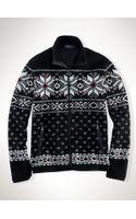 Polo Ralph Lauren Fair Isle Full-zip Sweater - Lyst