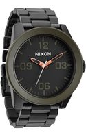 Nixon Corporal Ss Stainless Steel Watch - Lyst