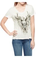 True Religion Antlers Relaxed Womens T-shirt - Lyst