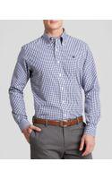 Brooks Brothers Mini Gingham Sport Shirt - Regular Fit - Lyst