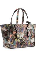 Valentino Small Butterfly Camouflage Tote Bag - Lyst