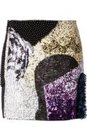 3.1 Phillip Lim Embellished Skirt - Lyst