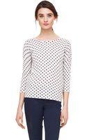 Club Monaco Abby Dot Sweater - Lyst