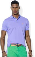 Polo Ralph Lauren Polo Customfit Stretchmesh Polo Shirt - Lyst